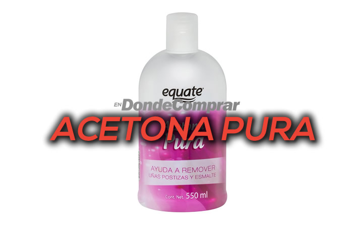 DONDE COMPRAR ACETONA PURA