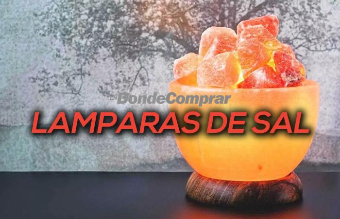 DONDE COMPRAR LAMPARAS DE SAL