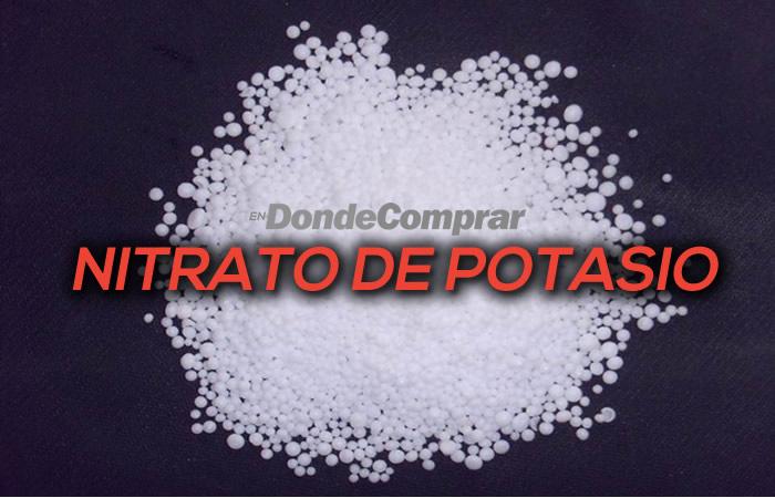 DONDE COMPRAR NITRATO DE POTASIO
