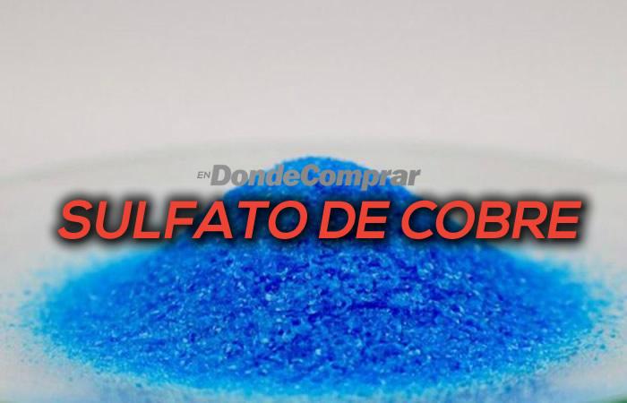 DONDE COMPRAR SULFATO DE COBRE