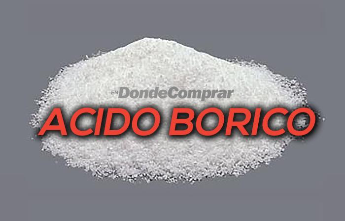 donde comprar acido borico