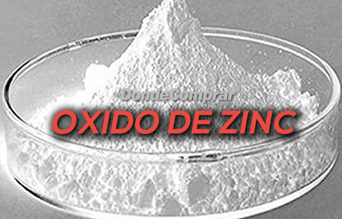 DONDE COMPRAR OXIDO DE ZINC