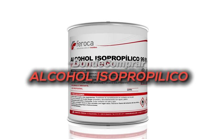 DONDE COMPRAR ALCOHOL ISOPROPILICO