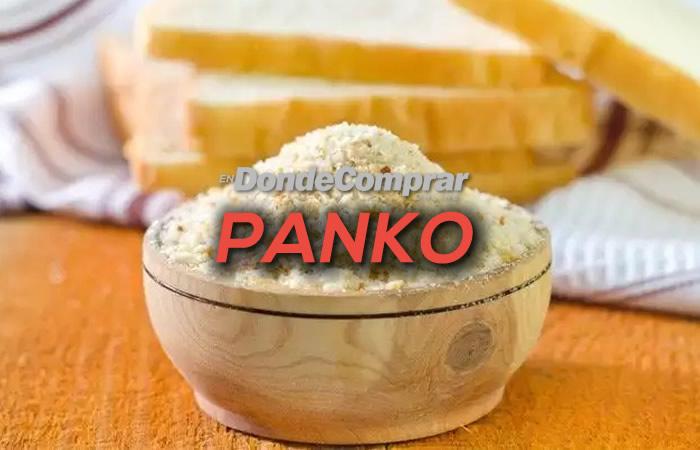 DONDE COMPRAR PANKO