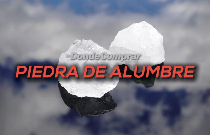 DONDE COMPRAR PIEDRA DE ALUMBRE