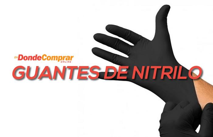 donde comprar guantes de nitrilo